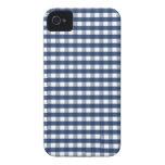Guinga linda de los azules marinos iPhone 4 Case-Mate carcasa
