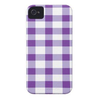 Guinga púrpura iPhone 4 Case-Mate coberturas