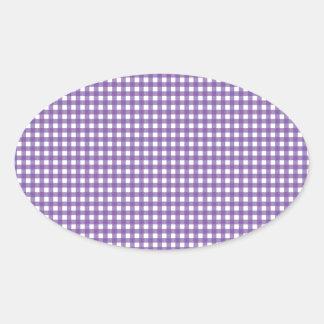 Guinga púrpura y blanca