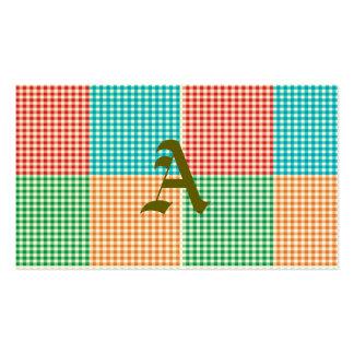 guinga, remiendo, verde, rojo, blanco, naranja, tarjetas de visita