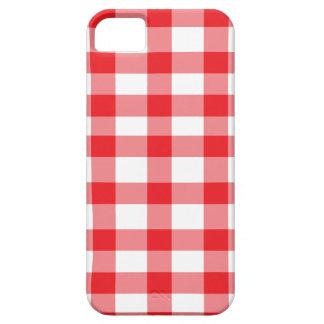 Guinga roja iPhone 5 protectores
