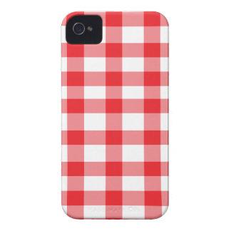 Guinga roja iPhone 4 carcasas