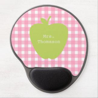 Guinga rosada+ Gel verde Mousepad del profesor de  Alfombrillas De Raton Con Gel