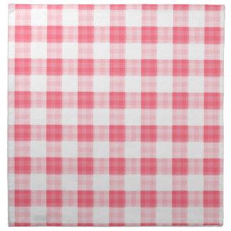 Guinga rosada servilletas de papel