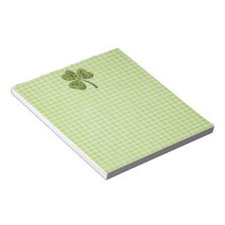 Guinga verde bloc de notas