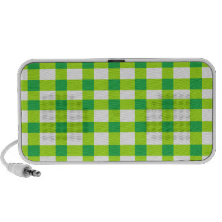Guinga verde iPod altavoces
