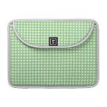 Guinga verde y blanca fundas macbook pro