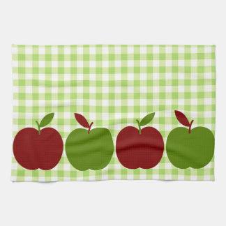 Guinga y manzanas toalla