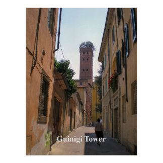 Guinigi Tower, Lucca Print
