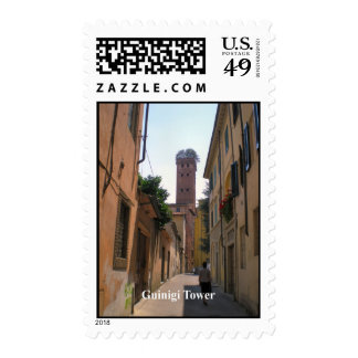Guinigi Tower, Lucca - see the trees on the top Postage