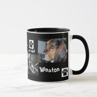 Guinness and Winston Mug