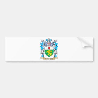 Guinness Coat of Arms - Family Crest Car Bumper Sticker
