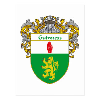Guinness Coat of Arms (Mantled) Postcard