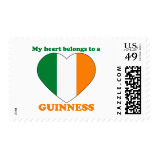 Guinness Postage Stamp