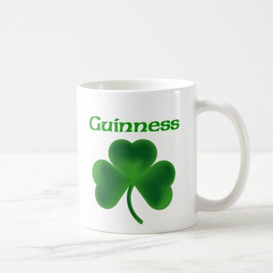 Guinness Shamrock Coffee Mug