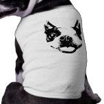 Guiño de Boston Terrier Camiseta De Perro