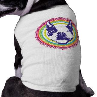 Guiño de Boston Terrier Playera Sin Mangas Para Perro
