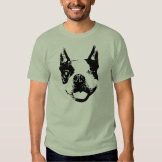 Guiño de Boston Terrier Poleras