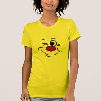 Guiño de la cara sonriente Grumpey Remeras
