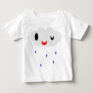 Guiño de la lluvia playera de bebé