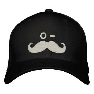 GUIÑO del bigote Gorra De Beisbol Bordada