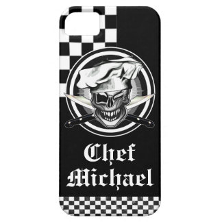 Guiño del cráneo del cocinero iPhone 5 Case-Mate fundas