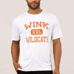 Guiño - gatos monteses - High School secundaria Camiseta