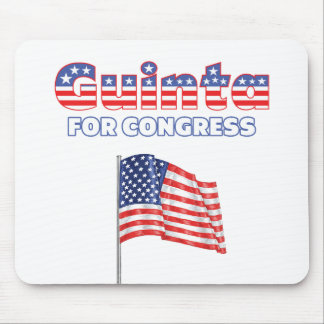 Guinta for Congress Patriotic American Flag Mouse Pad
