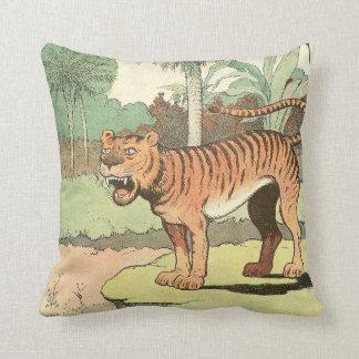 Guión del tigre almohada