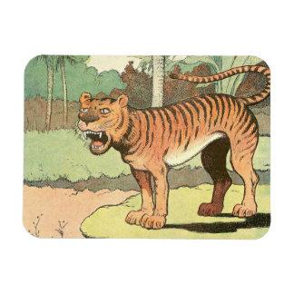 Guión del tigre imán flexible