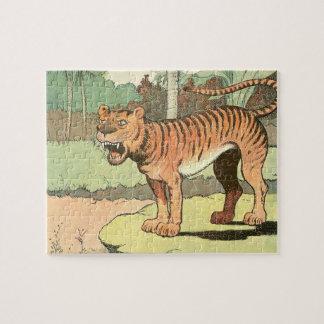 Guión del tigre puzzle