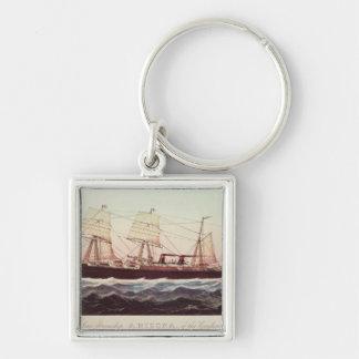Guion Line Steamship Arizona Keychain