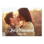 Guión tarjeta de la foto simple anuncio personalizado