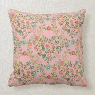 guirlanda almofada heart rose pillows