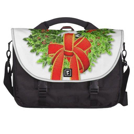 Guirnalda 1 del navidad bolsas de portátil