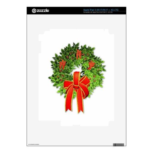 Guirnalda 1 del navidad iPad 3 skin