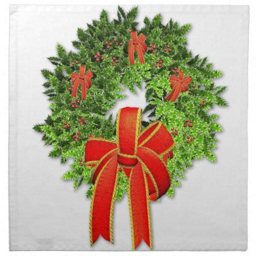 Guirnalda 1 del navidad servilletas