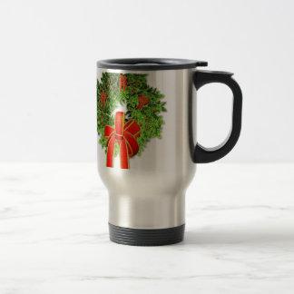 Guirnalda 1 del navidad taza de café