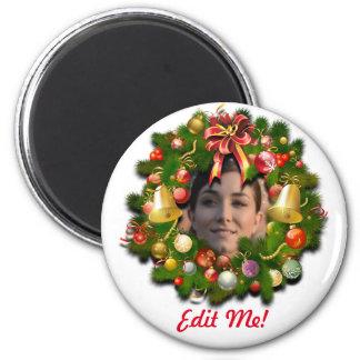 Guirnalda adaptable del navidad imán para frigorífico