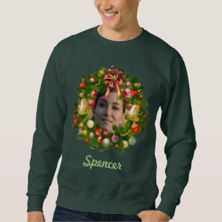 Guirnalda adaptable del navidad suéter