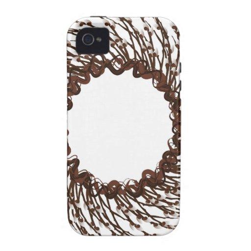 guirnalda con las bayas Case-Mate iPhone 4 fundas