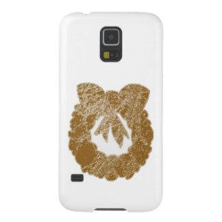 Guirnalda de la chispa del oro por Navin Fundas Para Galaxy S5