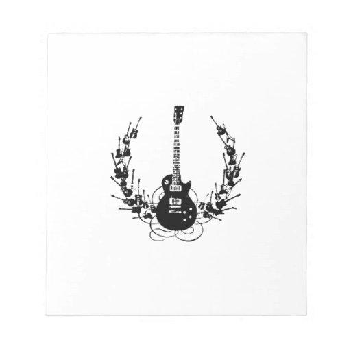 Guirnalda de la guitarra blocs