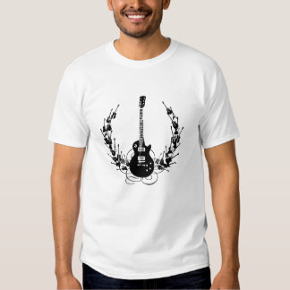 Guirnalda de la guitarra camisas