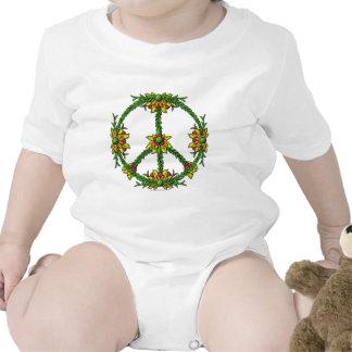 Guirnalda de la paz traje de bebé
