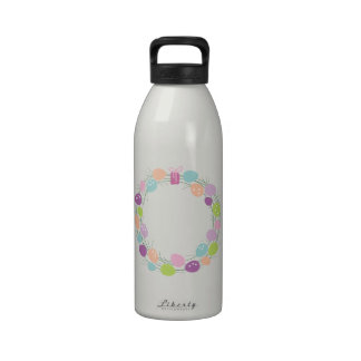 Guirnalda de la recepción de Pascua Botellas De Agua Reutilizables