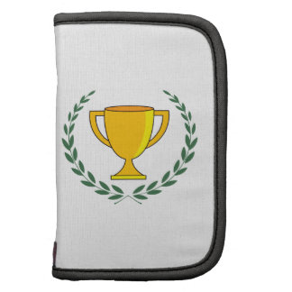 Guirnalda de la taza del trofeo organizador