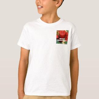 Guirnalda de las Felices Navidad Camisas