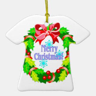 Guirnalda de las Felices Navidad Adornos