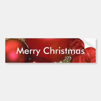 Guirnalda de las Felices Navidad Pegatina Para Auto